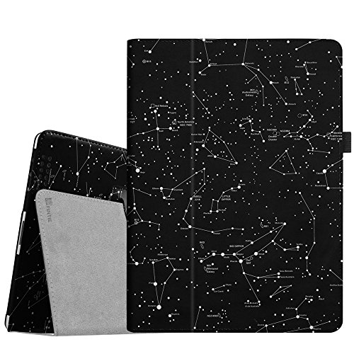 (Fintie iPad 4/3/2 Case - Slim Fit Folio Stand Case Smart Protective Cover Auto Sleep/Wake Feature for Apple iPad 2, iPad 3 & iPad 4th Generation with Retina Display - (Z-Constellation))