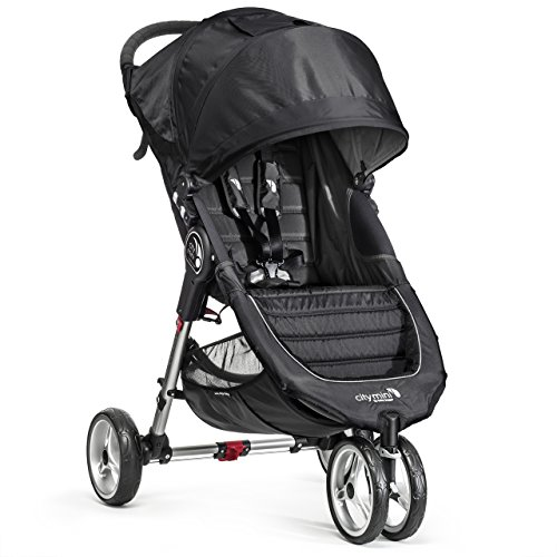 Baby Jogger City Mini Stroller In Black, Gray Frame by Baby Jogger