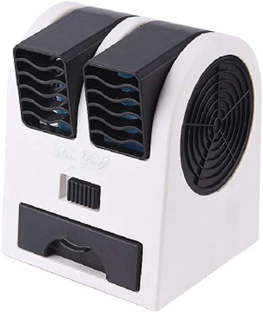 Ventilador portátil, mini ventilador multifuncional de sobremesa ...