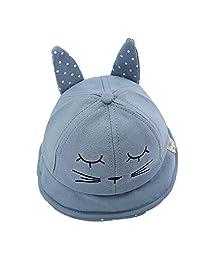 Gosear Baby Kid Boy Girl Lovely Cartoon Rabbit Ear Cap Hat For Easter Birthday Daily Wear