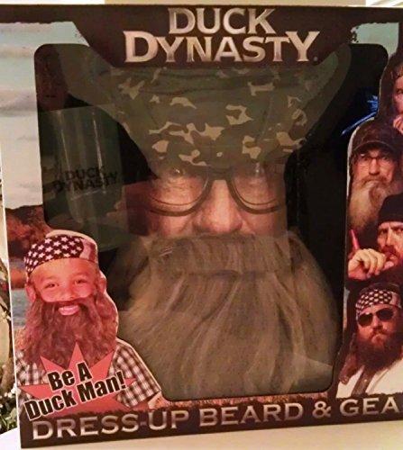 Duck Dynasty Dress-Up Beard & Gear Uncle -