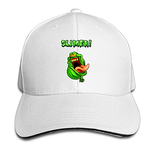 The Real Ghost Busters Wallpapers Logo Brim Caps Sandwich Peaked Hat