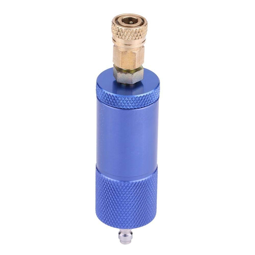 Air Compressor Filter Moisture Water Trap Oil-Water Separator Regulator with Female/&Male Thread Acouto Oil Water Separator, Blue
