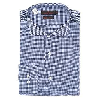 Pierre Cardin Dress Shirt for Men - White & Blue