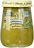 Beech-Nut Organic Stage 2 Baby Food Variety Pack, 4.25 Ounce (Pack of 10)