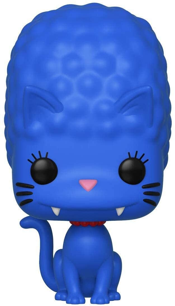 Funko- Pop Figura De Vinil: Animation: Simpsons-Marge as Cat Coleccionable, Multicolor (39718)