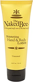 product image for The Naked Bee Unsented Hand And Body Lotion, 2.25 Ounce