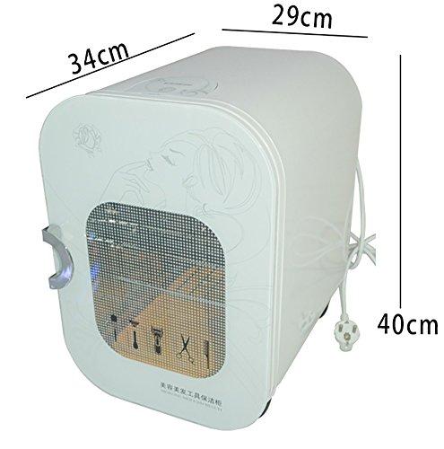 2 en 1 22L UV Toalla Esterilizador Ultravioleta Toalla Calentador Esterilizador Gabinete Facial Piel Cuidado SPA Belleza Salón Barbero Desinfectante Equipo: ...