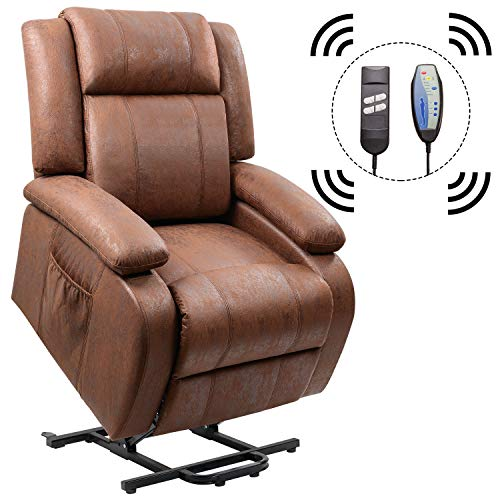 Amazon.com: Homall Power Lift Recliner Chair with Massage Single ...