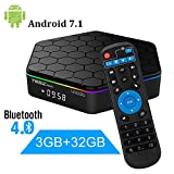 YAGALA T95Z plus 3Gb Ram/32Gb Rom Android 7.1 Amlogic S912 Smart Tv Box Octa Core 4K Resolution Dual Band Wi-Fi 2.4Ghz/5Ghz Bluetooth 4.0, 64 Bits
