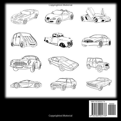 Awesome Cars Coloring Book Adult Kids Coloring Pages Filled With Luxury Cars Oldtimers Classic Automobiles Sedans American Muscle Cars Dream Cars Convertibles Happy Coloring For Boys Hansen Vit 9781980901778 Amazon Com