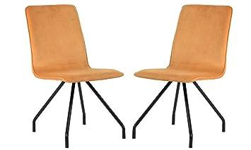 Amazon.com: Modernas sillas de comedor de cocina de ...