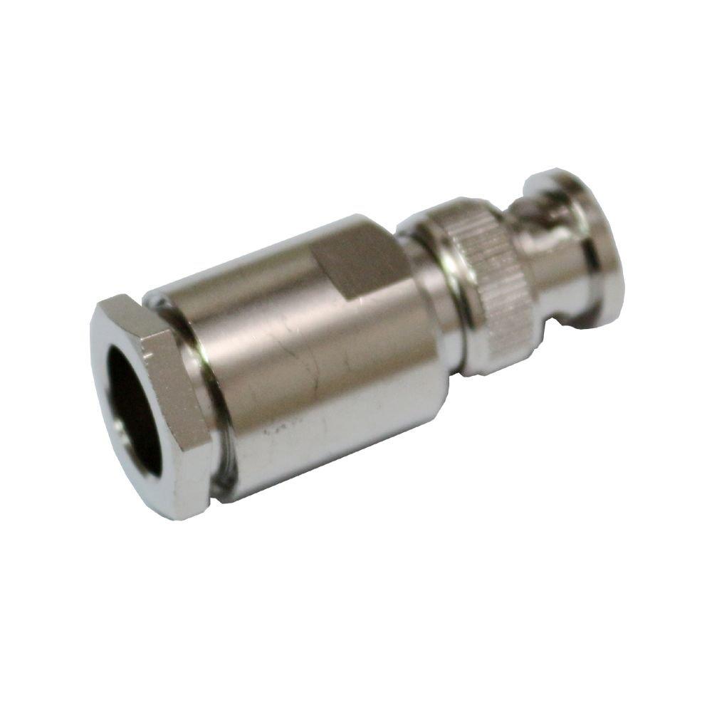 Conector Adaptador BNC Macho De Crimpar para RG8 LMR400 RG213 RG165 7D-FB RF Coaxial Cable: Amazon.es: Electrónica