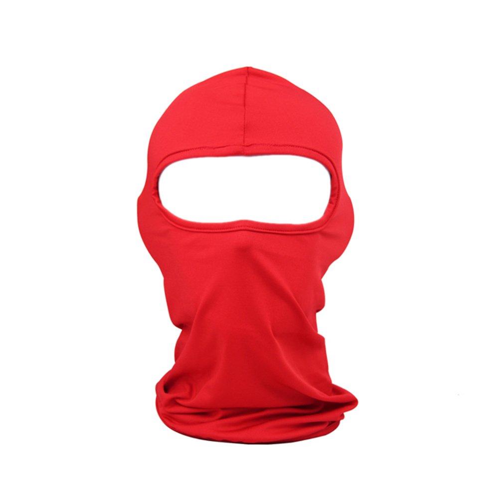 TopTie Thin Face Mask, Fashionable Multi-Purpose Cycling Sports Balaclava TBCX-AQ57211_BROWN
