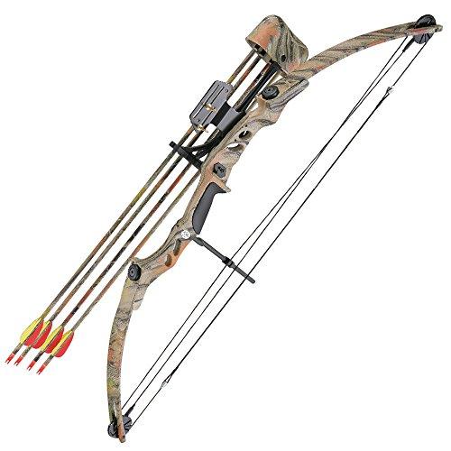 Autumn Camo Wild Turkey Archery 55 LBS Compound Bow