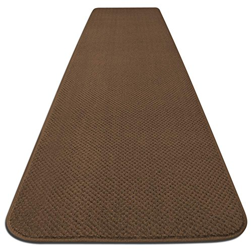 Skid-resistant Carpet Runner - Toffee Brown - 10 Ft. X 36 In. - Many Other Sizes to Choose From by House, Home and More