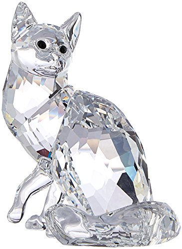 Swarovski Maine Coon Cat Figurine (Maine Crystal)