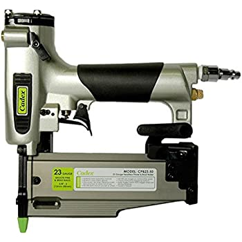 "Cadex CPB23.50 2"" 23 Gauge Headless Pin & Brad Nailer with 6000 Pc Fastener Assortment"