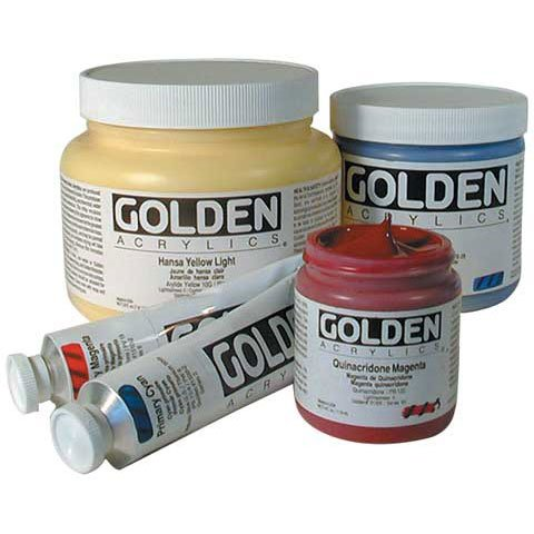 2 Oz Heavy Body Acrylic Color Paints  - Color: Permanent Mar