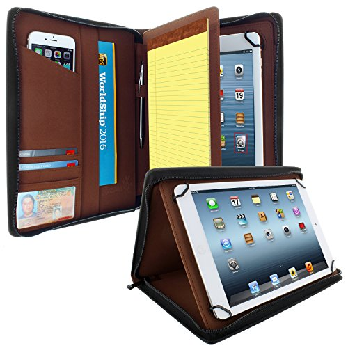 KHOMO Universal Padfolio Zippered tablets