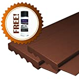 AOD Retail Weather Seal, Door weatherstrip also used as garage door seals, Garage Door Top and Side with 1 Lubricant (8 x 8, Brown) - Professional grade