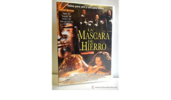 LA MASCARA DE HIERRO - Timithy Bottoms: Amazon.es: TIMOTHY BOTTOMS, MEG FOSTER, EDWARD ALBERT, Roy William Neill: Cine y Series TV