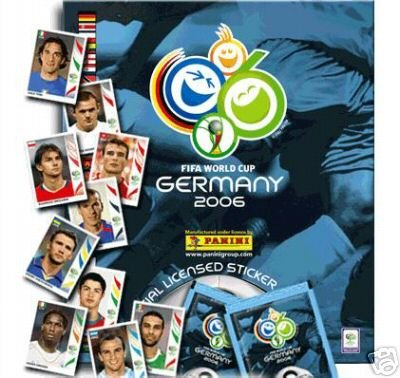 2006 Fifa World Cup Italy - 2006 Panini World Cup Soccer Sticker Box with FREE Album