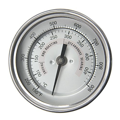BBQ Grill Temperature Gauge Cooking Thermometer for Oven Wood Stove Accessories