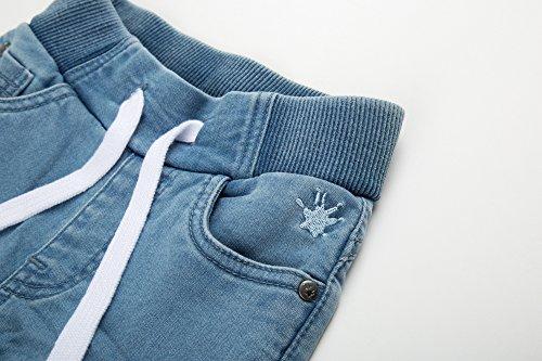 Mini Light Blue para Denim Vaqueros Jeans 590 Sigikid Niñas Blau 7qZA7R