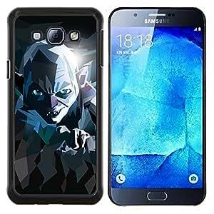 Queen Pattern - FOR Samsung Galaxy A8 A8000 - lord movie poster stylized evil ring creature - Cubierta del caso de impacto con el patr???¡¯???€????€??&sbquo