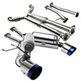 #6: Fit Infiniti G35 Coupe 2Dr Dual Burnt Tip Catback Exhaust System Pipe Spec-D
