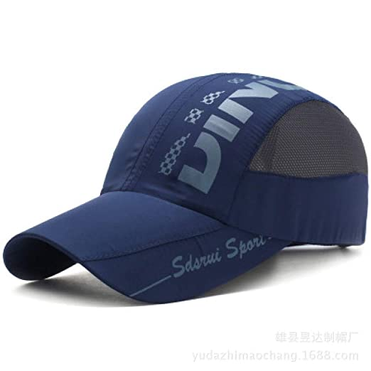 KFEK Sombrero de Malla de Secado rápido para Hombres y Mujeres ...