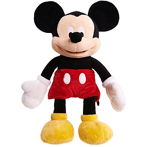 Disney Mickey Mouse Plush Hand Puppet -- Deluxe 12 Inch Mickey Mouse Plush Puppet Toy (Hand Puppets for Kids Toddlers) ()