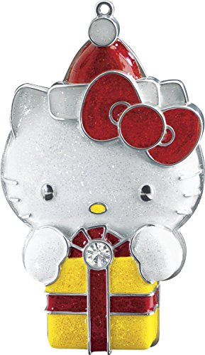 Hello Kitty With Present 2014 Carlton Heirloom Ornament (Best Hello Kitty Presents)