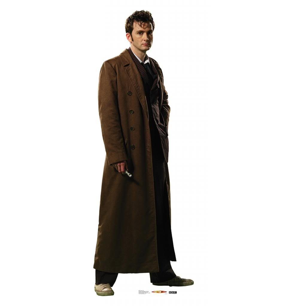 Tenth Doctor - David Tennant - BBC's Doctor Who - Advanced Graphics Life Size Cardboard Standup