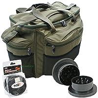 Large Fishing Tackle Bag + Boilie Bait Grinder