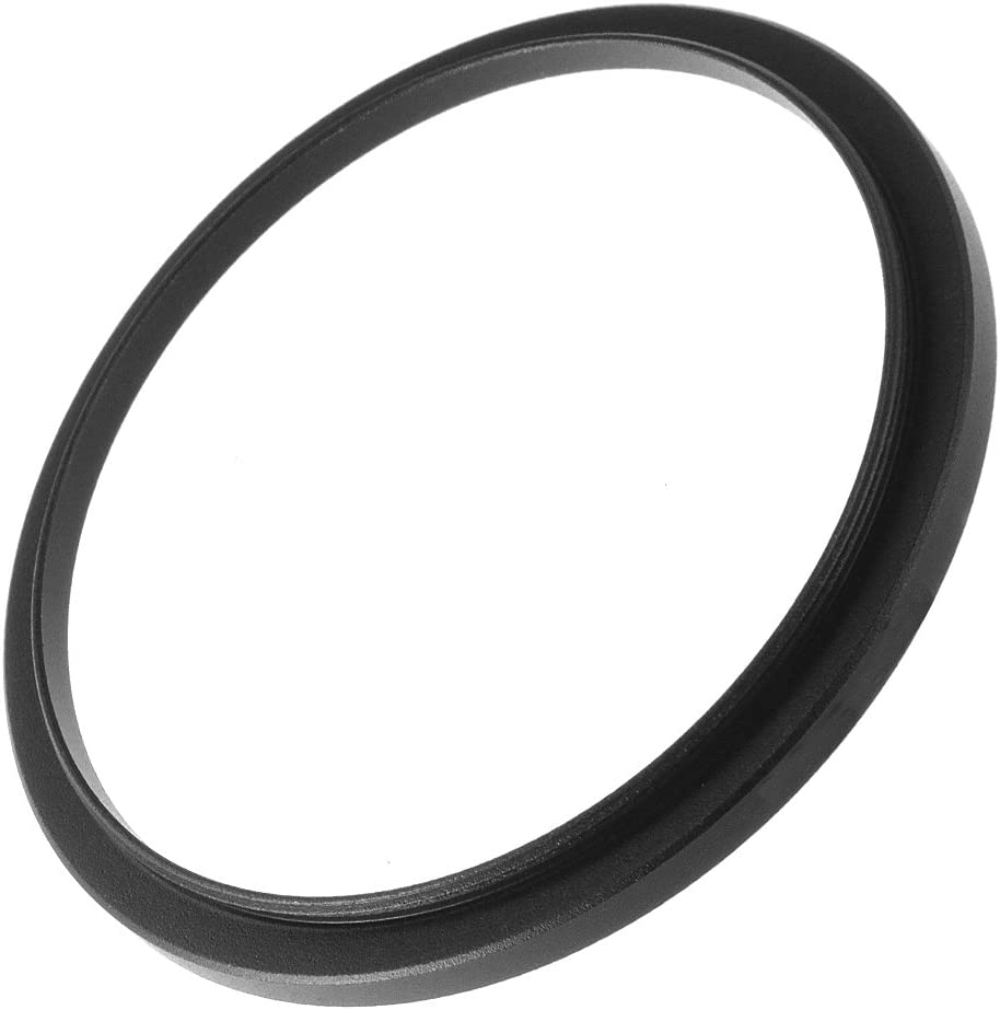Fotga Black 43mm to 52mm 43mm-52mm Step Up Filter Ring for DSLR Camera Lens and Neutral Density UV CPL Circular Polarizing Infrared Len Filters
