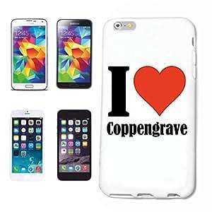"""Diseño Sony XPERIA Z3 """"I Love Coppengrave"""" carcasa Funda para Sony XPERIA Z3 ... Colour blanco ... Delgado y hermoso, que es nuestro rígida. Con un clic para que desde tu smartphone conectado"""