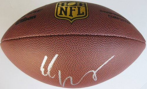 Eli Manning, New York Giants,signed, Autographed, NFL Duke Football, a COA with the Proof Photo of Eli Signing Will Be Included - Manning Signed Football