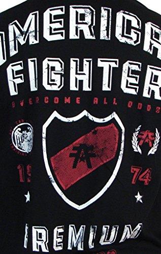 Das polytechnische grafische T Shirt der American Fighter Männer