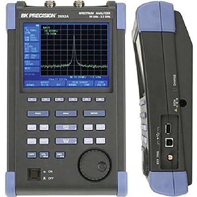 50kHz - 3.3GHz Handheld Spectrum Analyzer with Tracking Generator