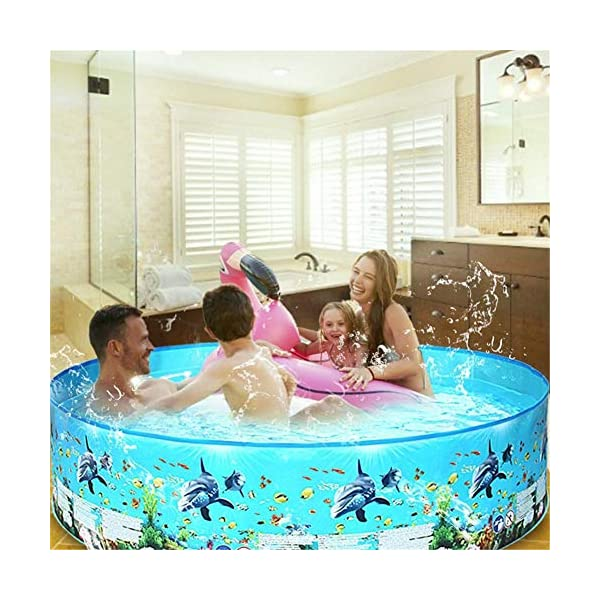 Yankuoo Piscina gonfiabile di grandi dimensioni per adulti e bambini piscina piscina piscina all'aperto coperta vasca… 2 spesavip