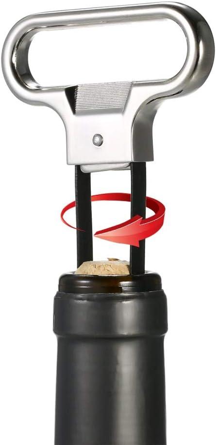 Sacacorchos Abrebotellas De Vino De Dos Puntas Extractor De Sacacorchos Abrebotellas De Vino Extractor De Tirador De Corcho Bar Retro Herramientas De Cerveza Apertura De Bebidas