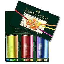 Faber Castell Polychromos Color Pencil Set - Tin of 60