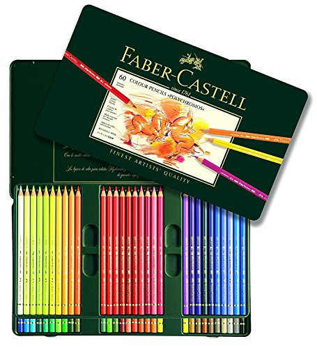 Faber Castell Polychromos Color Pencil Set - Tin of 60 by Faber