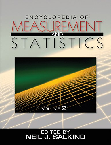 Encyclopedia of Measurement and Statistics Pdf