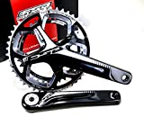 FSA Gossamer Pro 386EVO ABS DB Road Bicycle Crankset (Black - 46/36t - 175 w/o BB N-11)