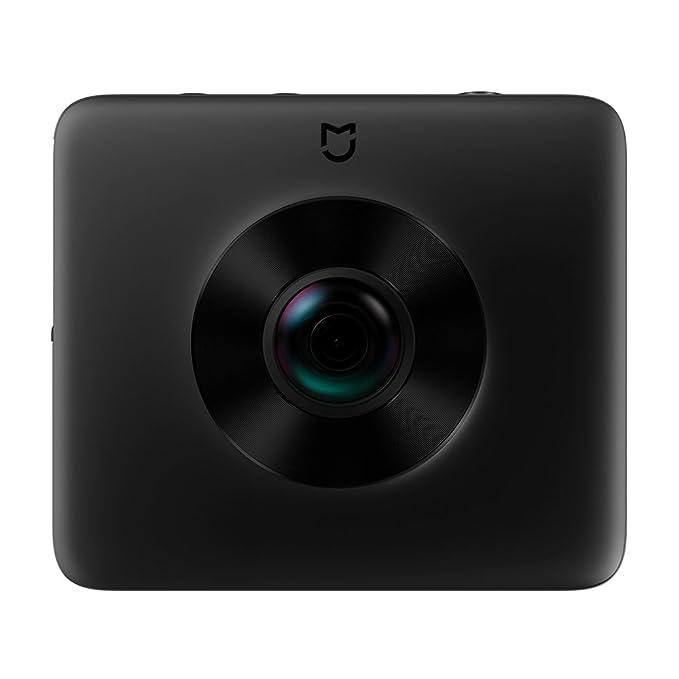 dff085c8945 Amazon.com : 360 Camera, Xiaomi Mijia Mi Dual-Lens Sphere Action Cam Wifi  Waterproof Panoramic Camera 3.5K HD Video Recording with Sony Image Sensor  and ...