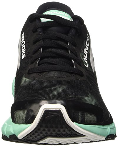 Launch 3 Brooks Zapatillas Para Mujer Black Green De W ice Running white fwx5xUZd