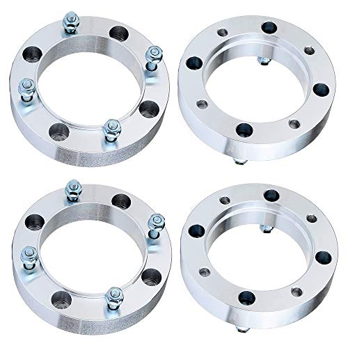 ECCPP 1.5 inch 4 Lugs Wheel Spacers 4x156 to 4x156mm 38mm 131mm CB fits for Polaris Outlaw 500 525 Polaris Sportsman 500 with 3/8